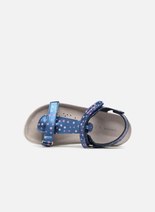 Sandales et nu-pieds Geox J S.ALOHA B J7214B Bleu vue gauche