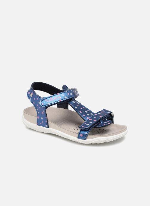 Sandales et nu-pieds Geox J S.ALOHA B J7214B Bleu vue détail/paire
