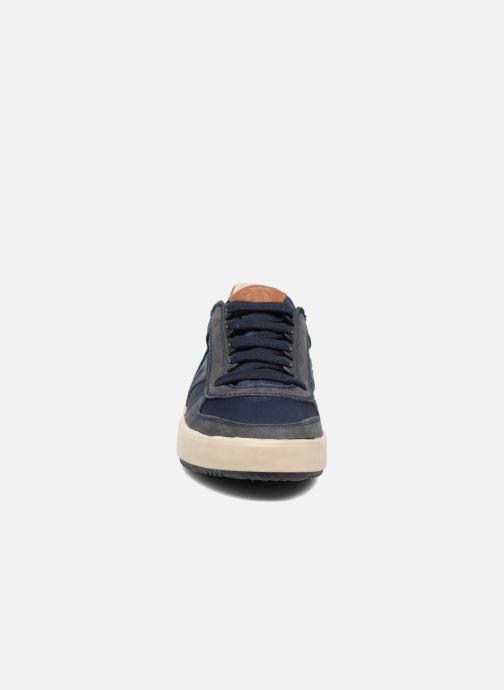 Sneaker Geox J ALONISSO B. J722CA blau schuhe getragen