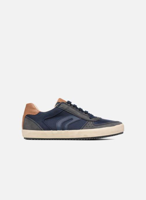 Sneaker Geox J ALONISSO B. J722CA blau ansicht von hinten