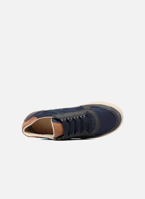 Sneaker Geox J ALONISSO B. J722CA blau ansicht von links