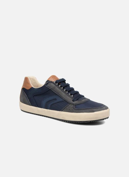 Sneaker Geox J ALONISSO B. J722CA blau detaillierte ansicht/modell