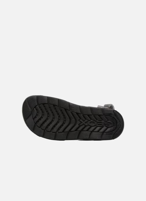 Sandales et nu-pieds Geox J SANDAL STORM A J7242A Gris vue haut