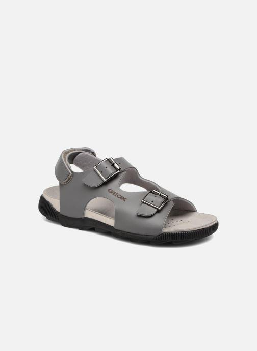Sandales et nu-pieds Geox J SANDAL STORM A J7242A Gris vue détail/paire