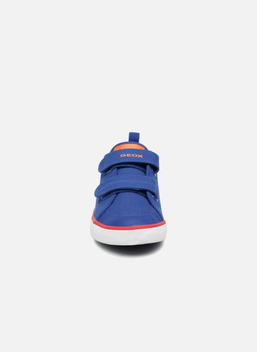 Sneaker Geox J KILWI B. S J72A7S blau schuhe getragen
