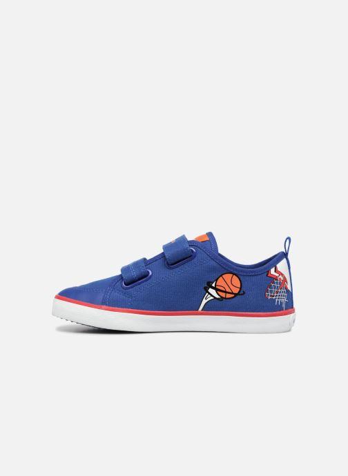 Sneaker Geox J KILWI B. S J72A7S blau ansicht von vorne