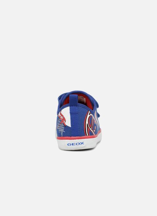 Sneaker Geox J KILWI B. S J72A7S blau ansicht von rechts