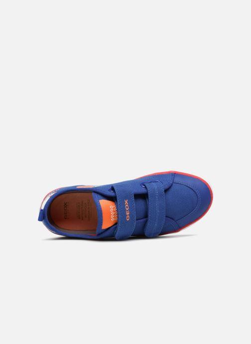 Sneaker Geox J KILWI B. S J72A7S blau ansicht von links