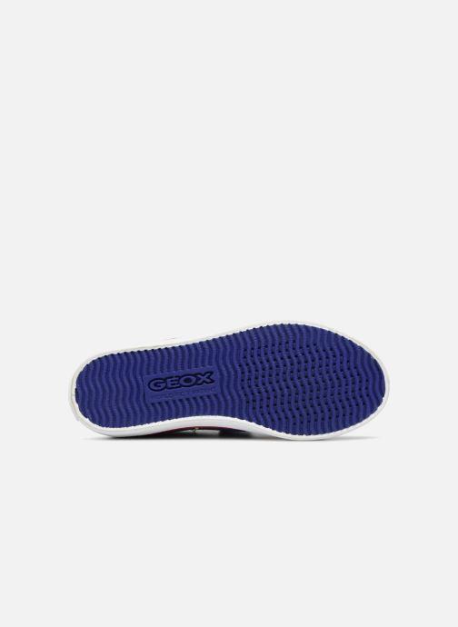 Sneaker Geox J KILWI B. S J72A7S blau ansicht von oben