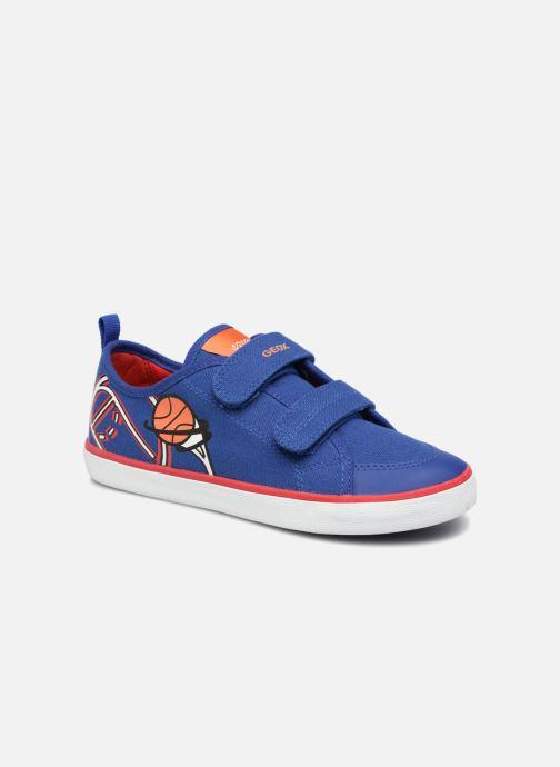 Sneaker Geox J KILWI B. S J72A7S blau detaillierte ansicht/modell