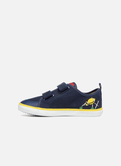 Sneakers Geox J KILWI B. S J72A7S Azzurro immagine frontale