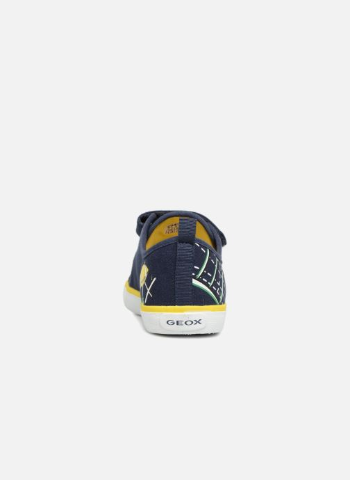 Sneakers Geox J KILWI B. S J72A7S Azzurro immagine destra