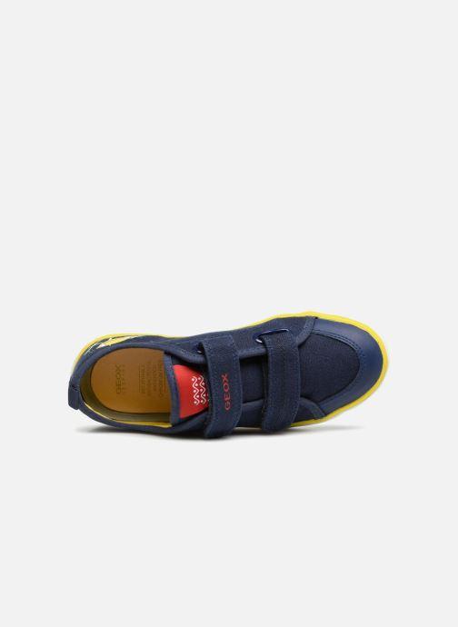 Sneakers Geox J KILWI B. S J72A7S Azzurro immagine sinistra