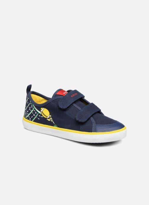 Sneakers Geox J KILWI B. S J72A7S Azzurro vedi dettaglio/paio