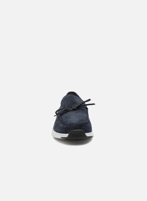 Mocassins Geox U SNAPISH D U722DD Bleu vue portées chaussures