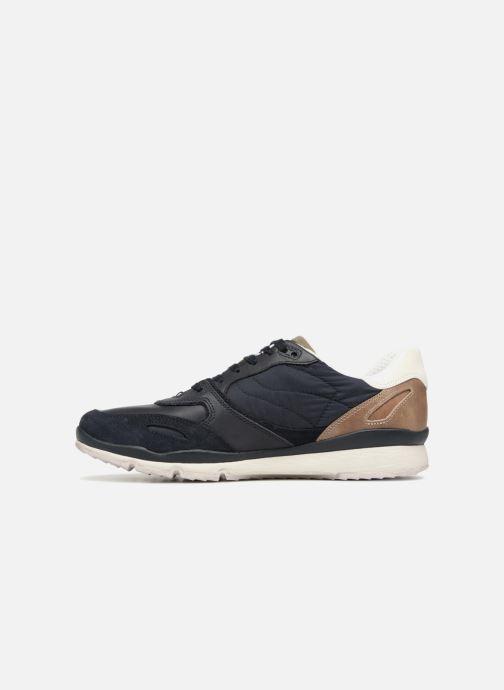 Sneakers Geox U SANDFORD A U72A6A Azzurro immagine frontale