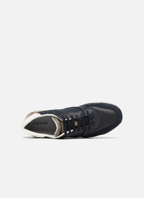 Sneakers Geox U SANDFORD A U72A6A Azzurro immagine sinistra