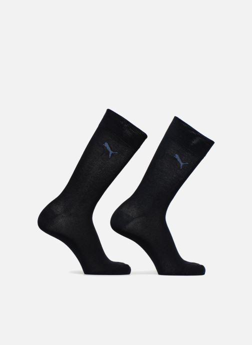 Chaussettes et collants Puma Socks CLASSIC SOCKS LOT DE 2 Uni Bleu vue détail/paire