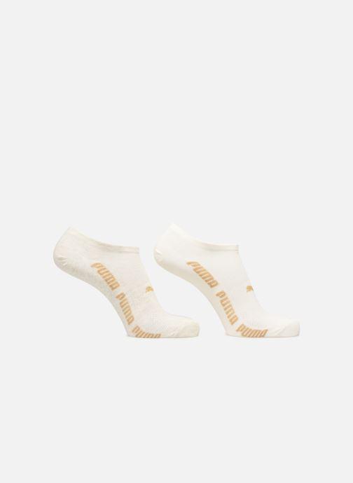 Strumpor och strumpbyxor Puma Socks SNEAKERS LUREX WOMEN LOT DE 2 Vit detaljerad bild på paret