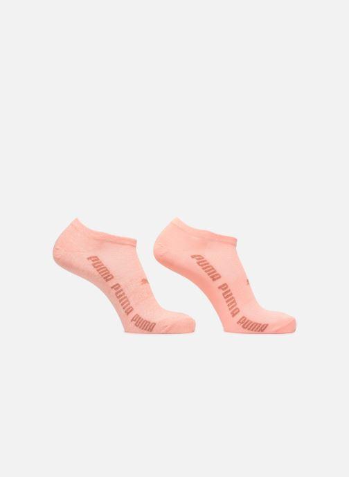 Sokken en panty's Puma Socks SNEAKERS LUREX WOMEN LOT DE 2 Roze detail