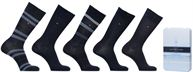 GIFT BOX CHAUSSETTES MEN DUO STRIPES LOT DE 5