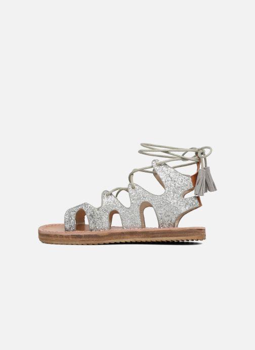 Sandales et nu-pieds Coolway BOAVISTA Argent vue face