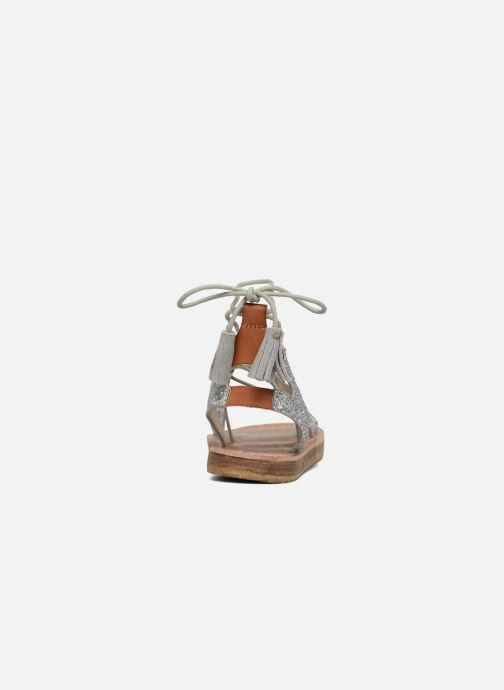 Sandals Coolway BOAVISTA Silver view from the right