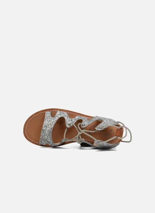 Sandals Coolway BOAVISTA Silver view from the left
