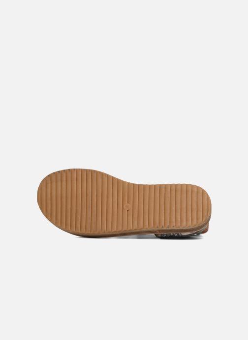 Sandales et nu-pieds Coolway BOAVISTA Argent vue haut
