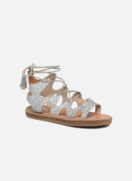 Sandales et nu-pieds Coolway BOAVISTA Argent vue détail/paire