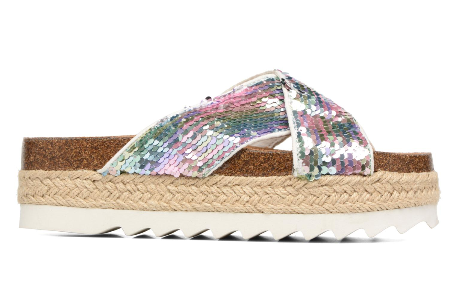 Wedges Coolway COLIBRI Wit achterkant
