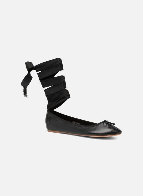 Ballerinaer Coolway CORAL Sort detaljeret billede af skoene