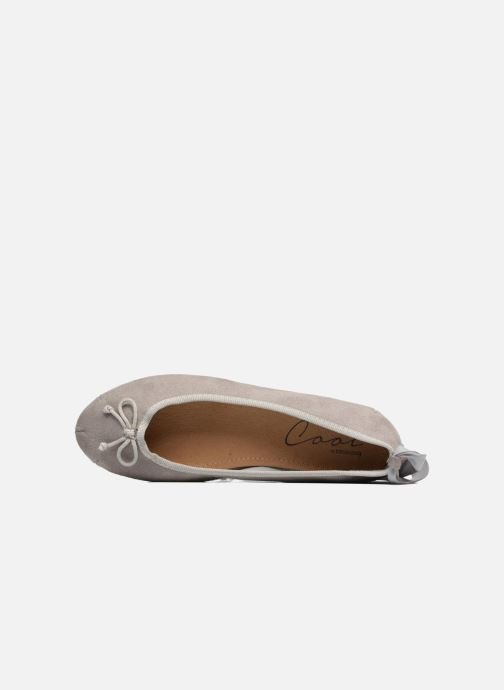 Ballet pumps Coolway CORAL Grey view from the left