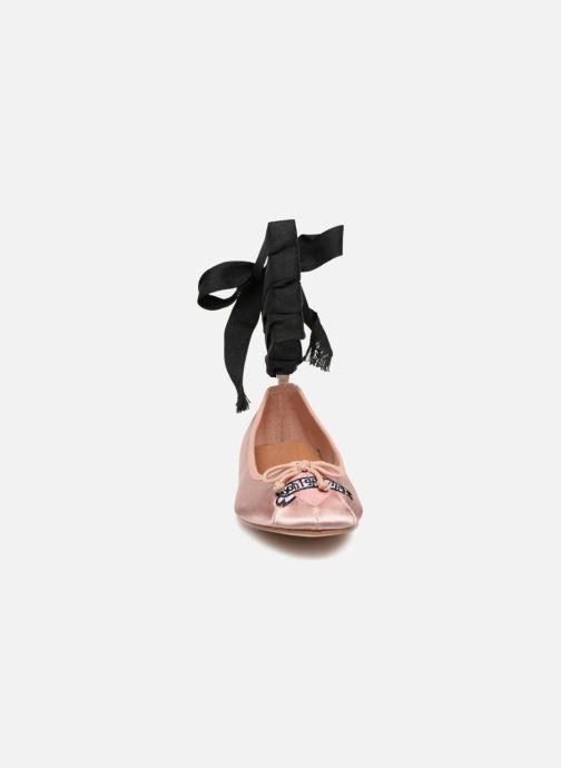 Ballerines Coolway CORAL Beige vue portées chaussures