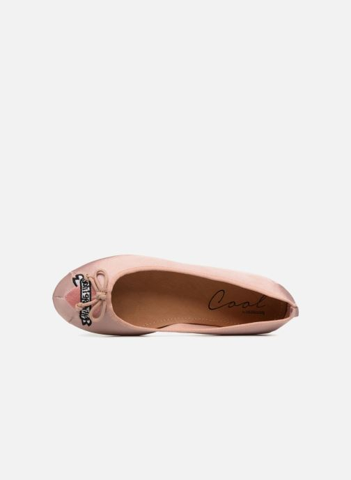 Ballet pumps Coolway CORAL Beige view from the left
