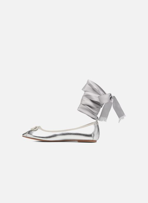 Ballet pumps Coolway CORAL Silver front view
