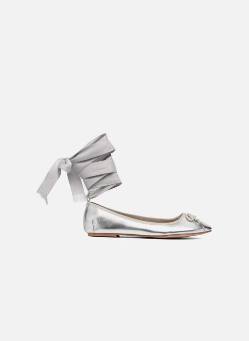 Ballet pumps Coolway CORAL Silver back view
