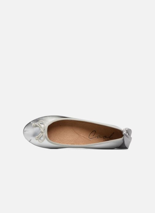 Ballet pumps Coolway CORAL Silver view from the left