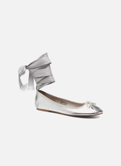 Ballet pumps Coolway CORAL Silver detailed view/ Pair view