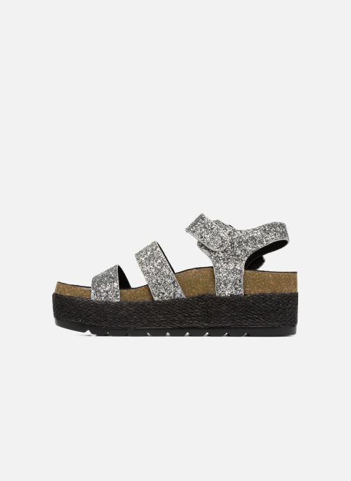 Sandals Coolway CUMBIA Silver front view
