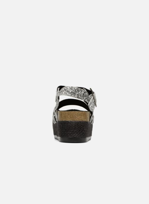 Sandals Coolway CUMBIA Silver view from the right