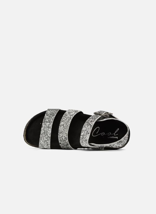 Sandals Coolway CUMBIA Silver view from the left
