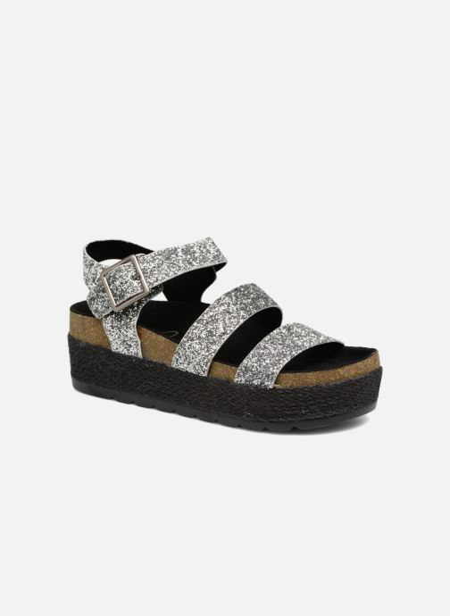 Sandals Coolway CUMBIA Silver detailed view/ Pair view