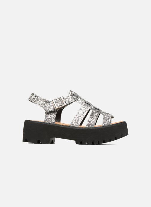 Sandales et nu-pieds Coolway FLAMINGO Argent vue derrière