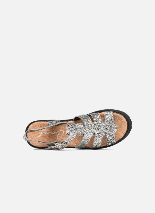 Sandales et nu-pieds Coolway FLAMINGO Argent vue gauche