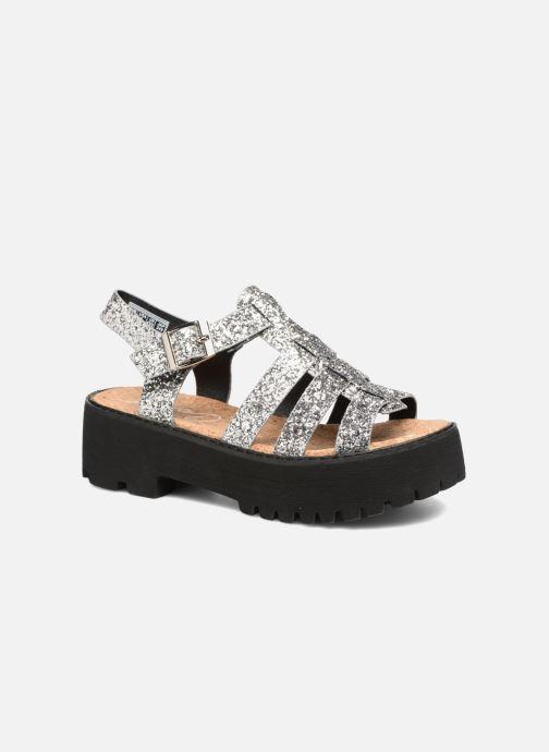 Sandales et nu-pieds Coolway FLAMINGO Argent vue détail/paire