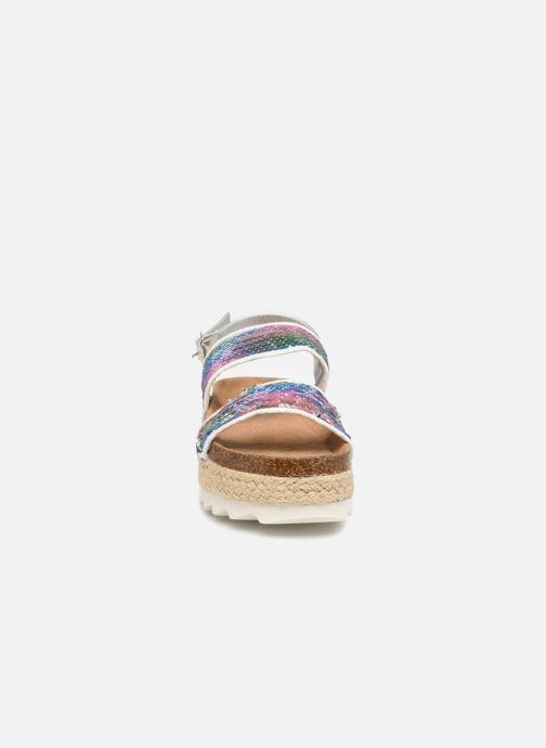 Sandales et nu-pieds Coolway KOALA Blanc vue portées chaussures