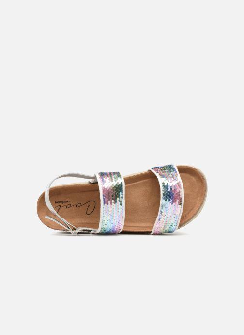 Sandales et nu-pieds Coolway KOALA Blanc vue gauche