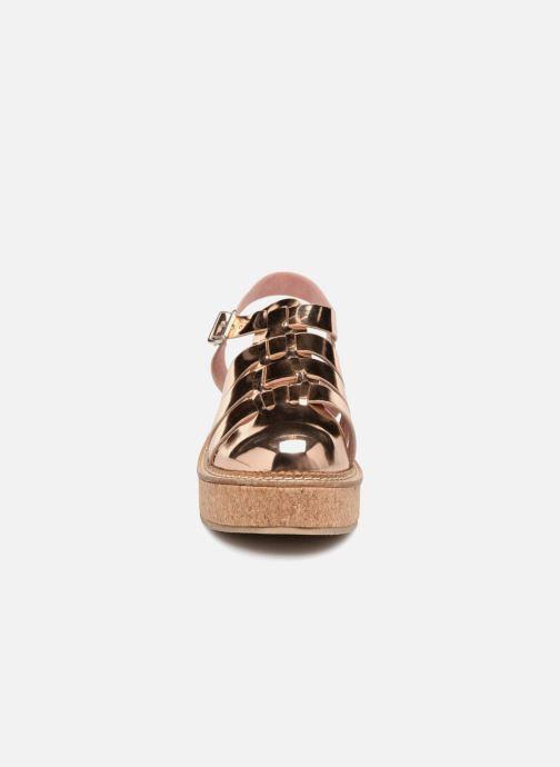 Sandales et nu-pieds Coolway PAPAYA Rose vue portées chaussures