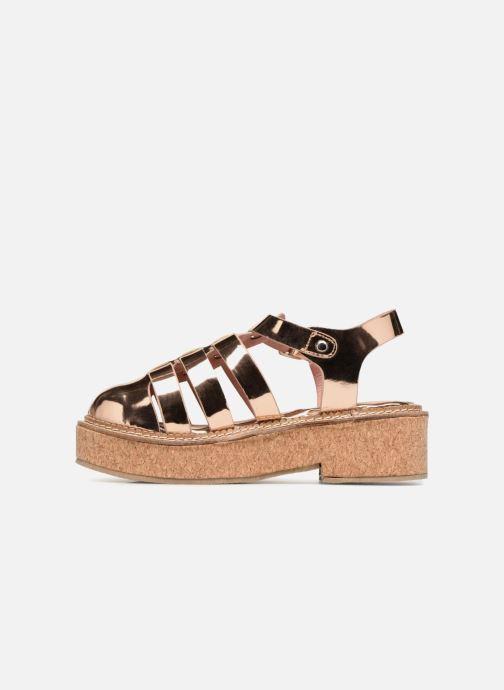 Sandales et nu-pieds Coolway PAPAYA Rose vue face